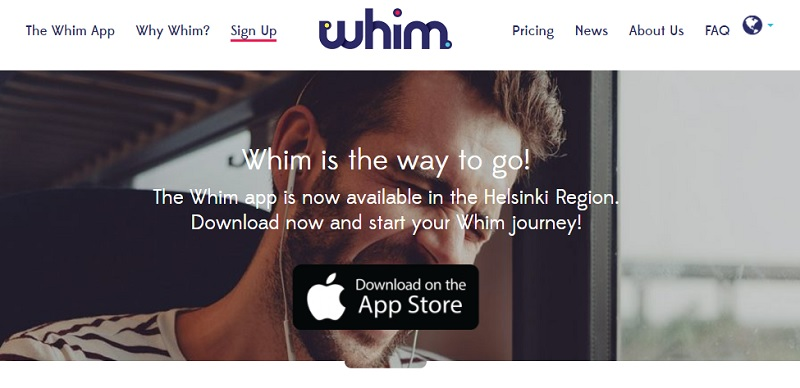 Whim app – Your travel companion